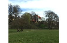 Sparres träslott/ Sparres Wooden Castle built 1782, in Bellevuepark