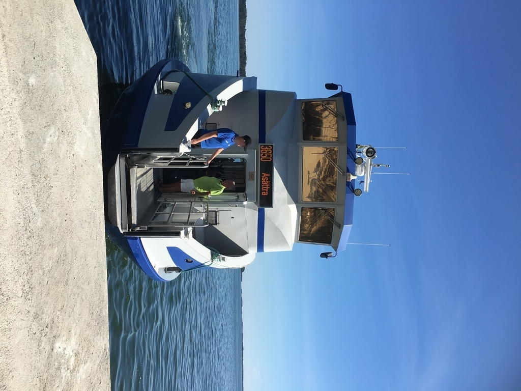 Take a boat to the Stocholm archipelago