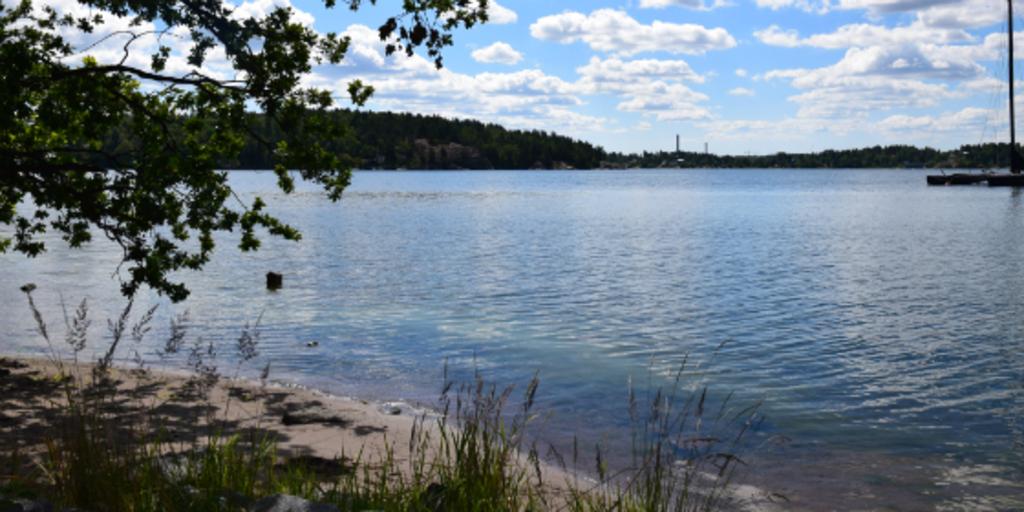 Swimming - Baltic sea