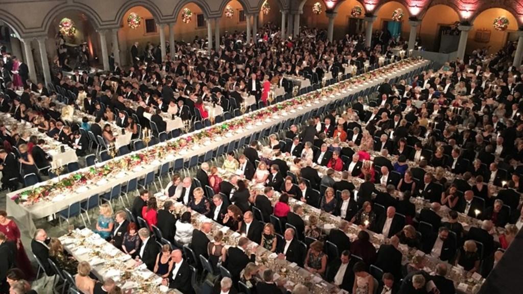 Nobel prize dinner in the city hall