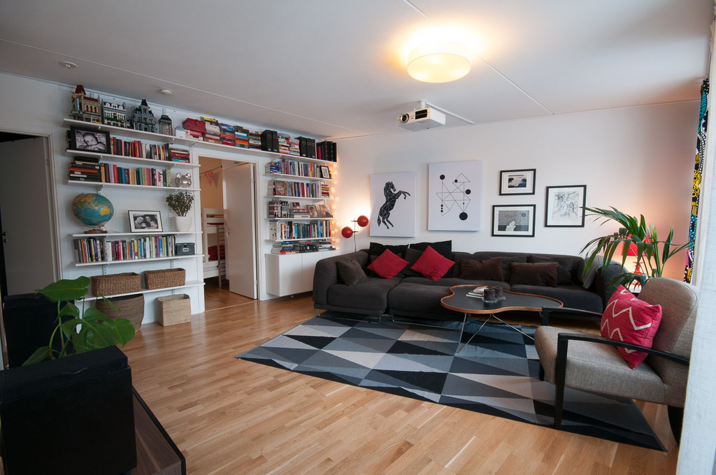 Our 4 room apartment 20 minutes from Stockholm city