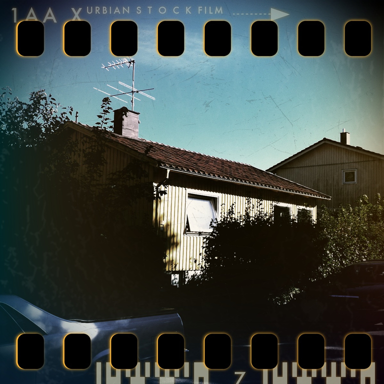 our house from the street