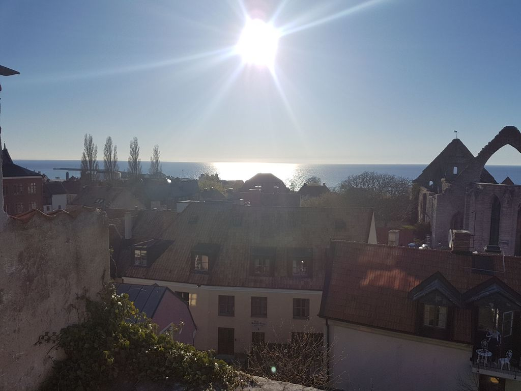 View over Visby