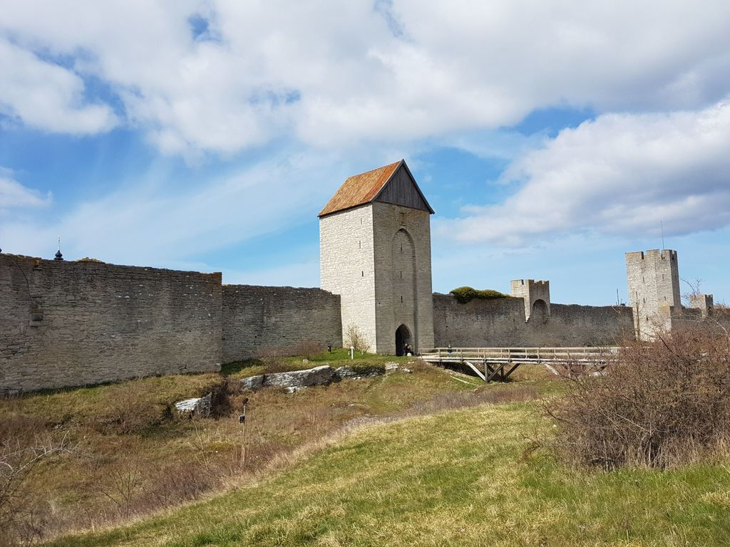 City Wall in Visby