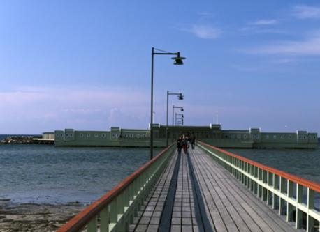 Ribersborg Kallbadhus (open sea bath house)