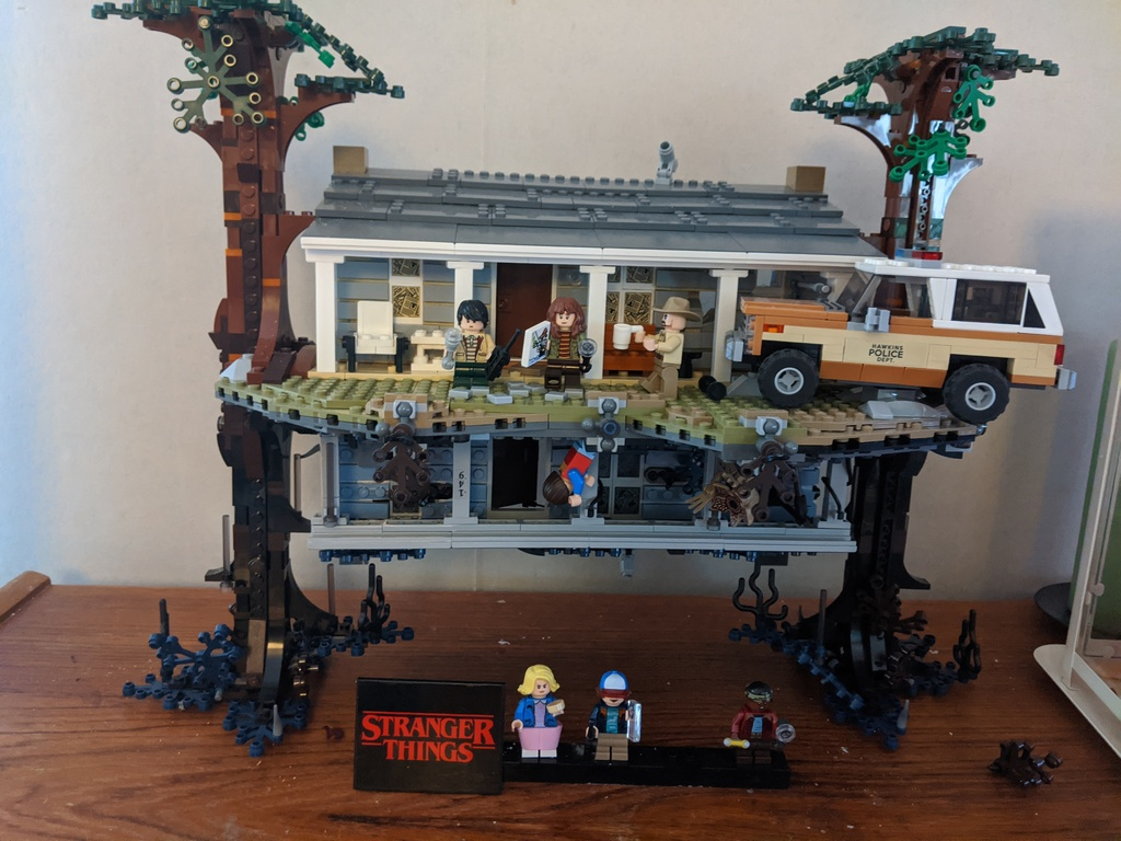 Stranger Things LEGO! Lena's joy :-)