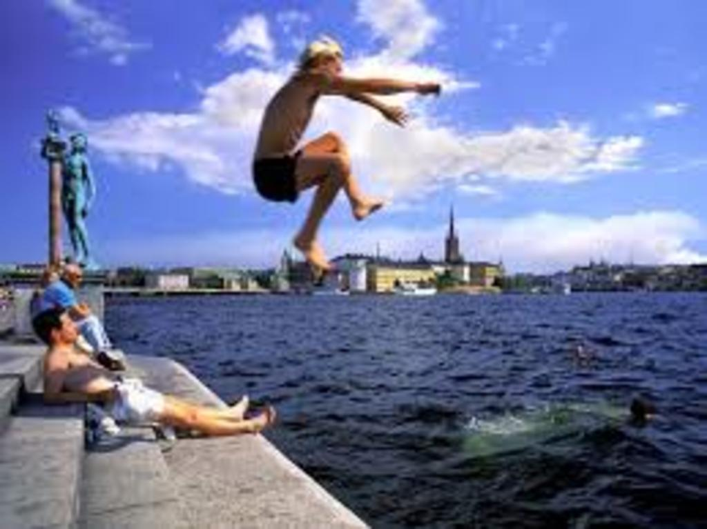 Swim in Stockholm's clean water!