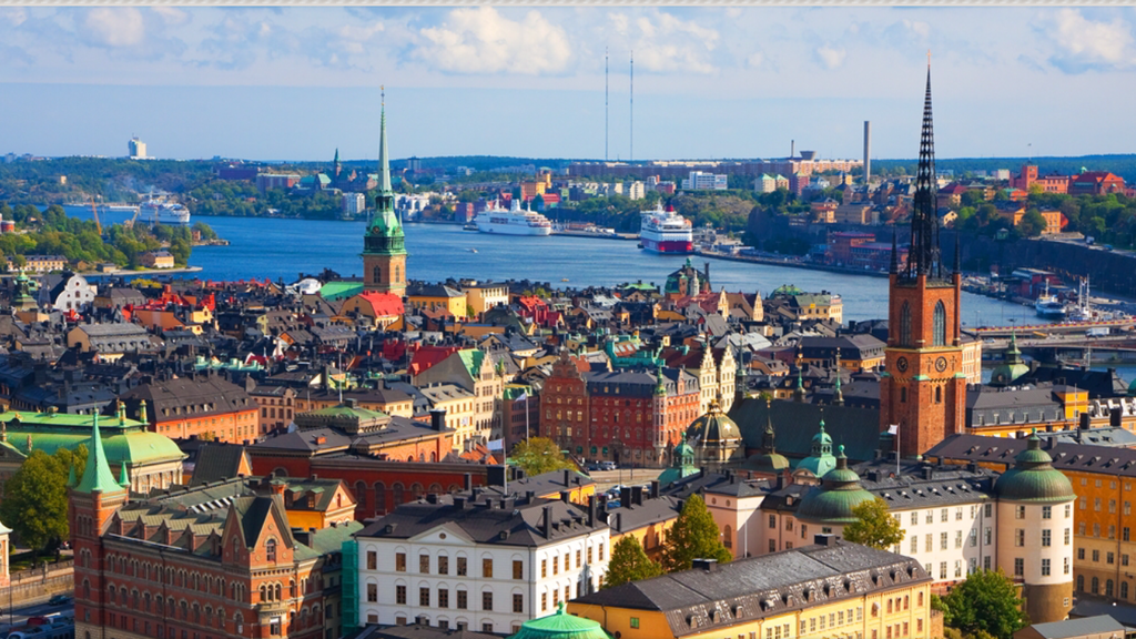 A view over Stockholm.
