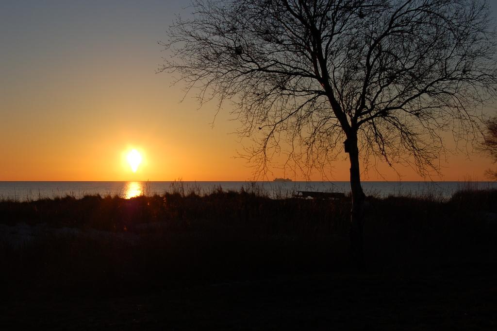 Sunset at Gislövs Strandmark