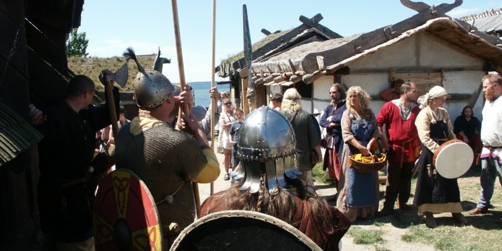 Visit the Viking Town at the Museum of Foteviken, 25 km's away