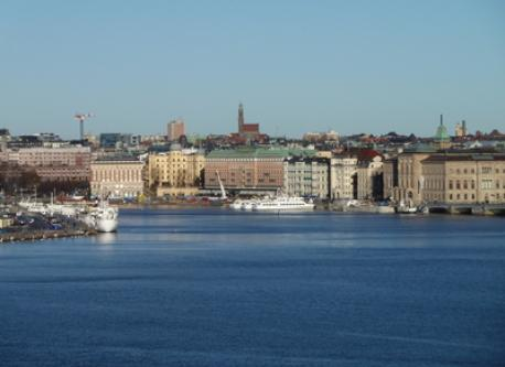 Lovely view of Stockholm (Pic is taken 150 meters from our home)