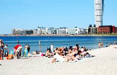 The Beach in Malmö Town