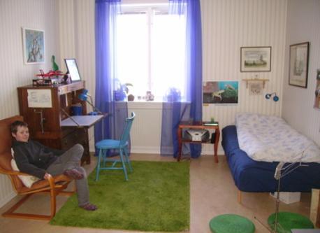 Theodore's bedroom