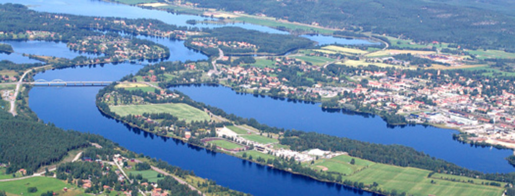 View of Ljusdal