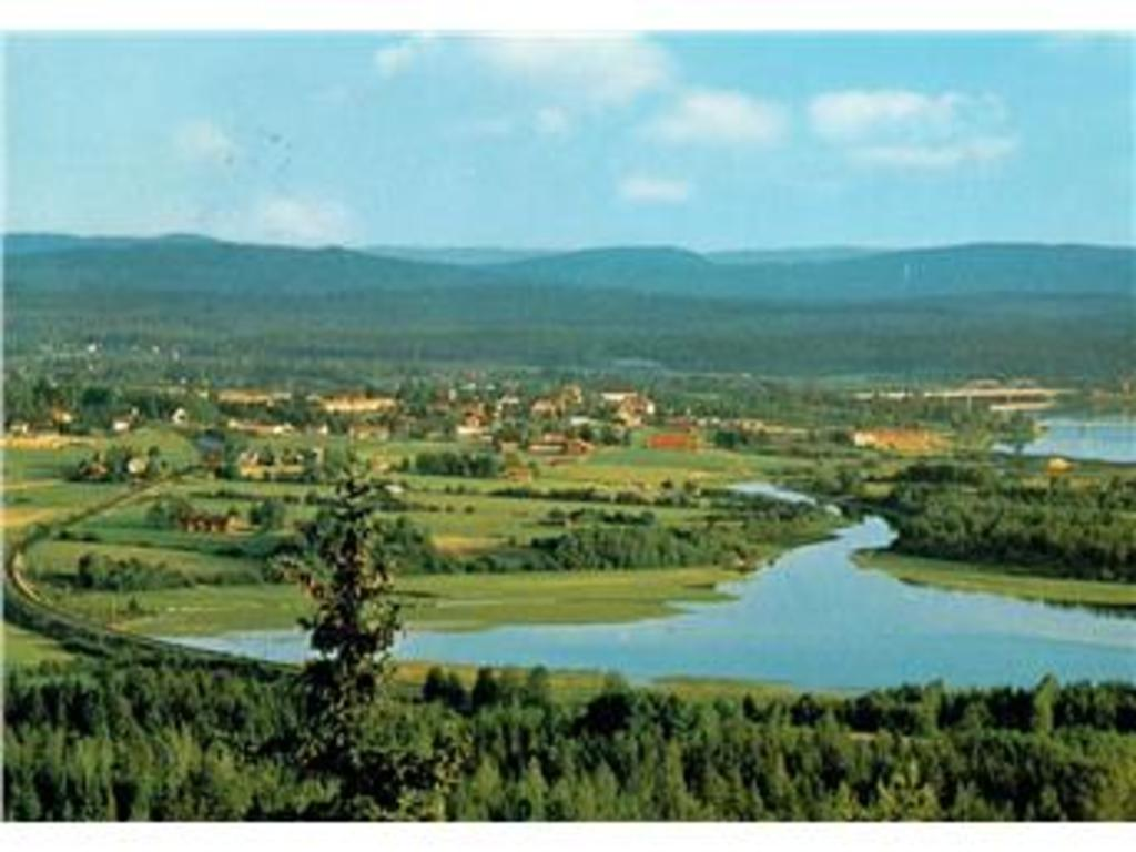 View of Ljusdal from the Kolsvedja mountain