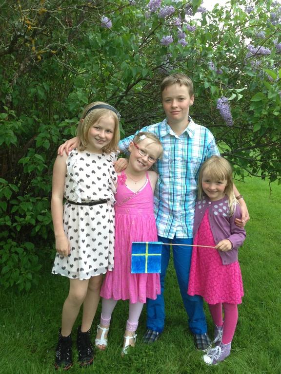 Ella, Rebecka, Theodor and Ida-Maria