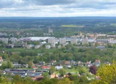 View from Billingen mountain
