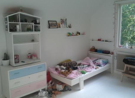 Part of the childrens bedroom