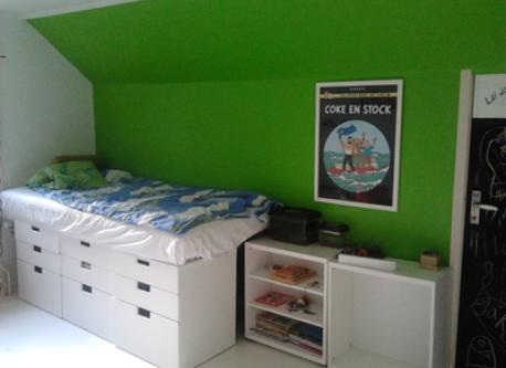 Part of childrens bedroom