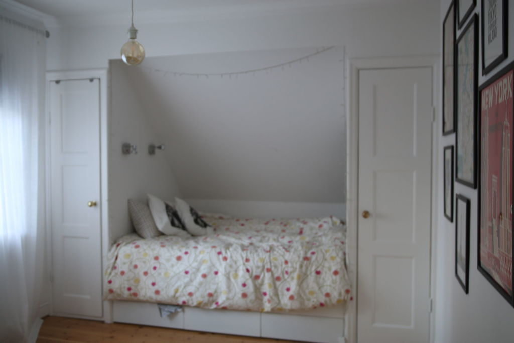 Third bedroom with built in double bed and plenty of storage