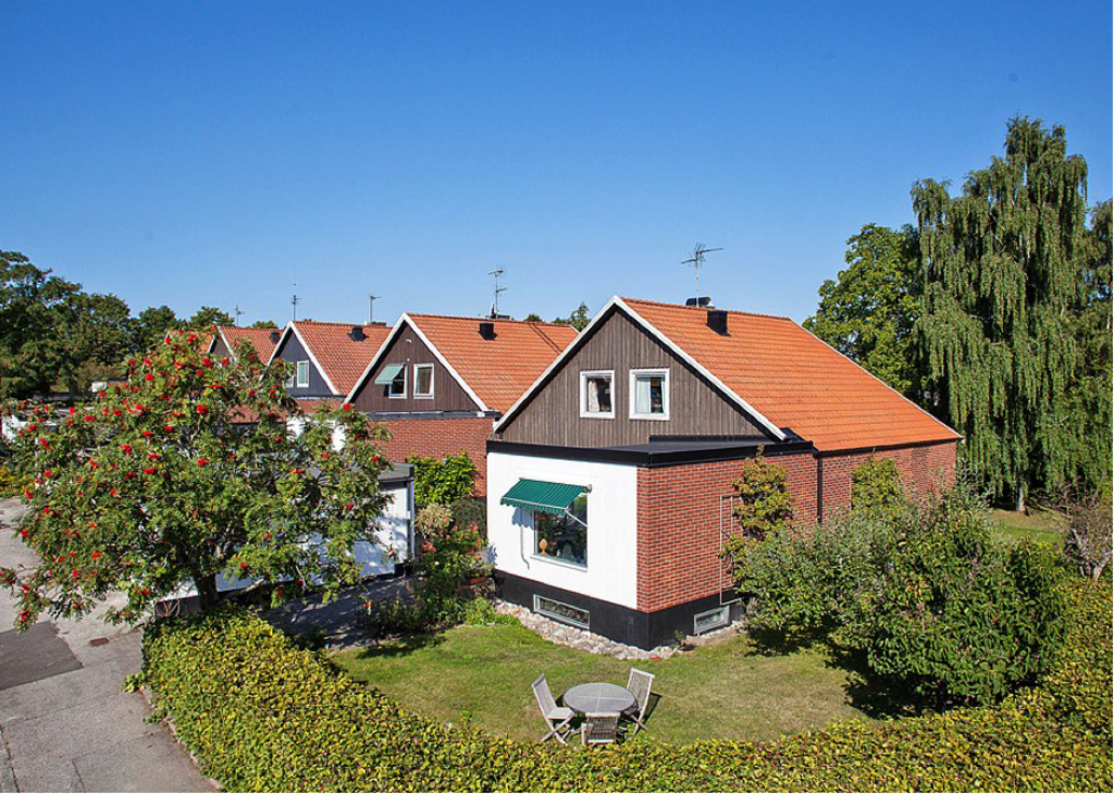 Our house and garden in Lund