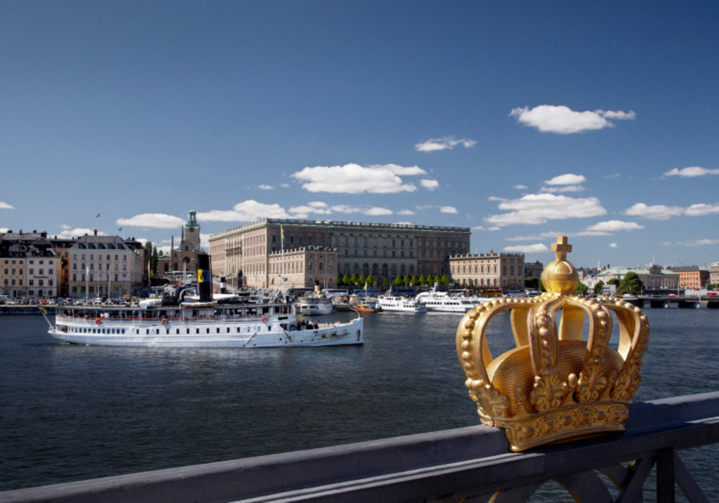 The Royal Castle, Stockholm center