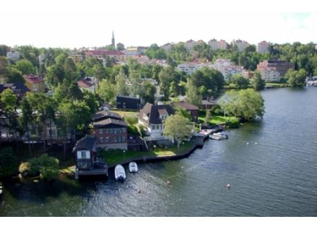 St Essingen seen from above