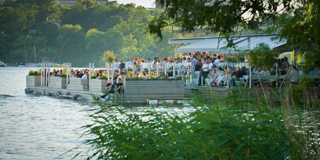 Our favorite summer hang out - Mälarpaviljongen