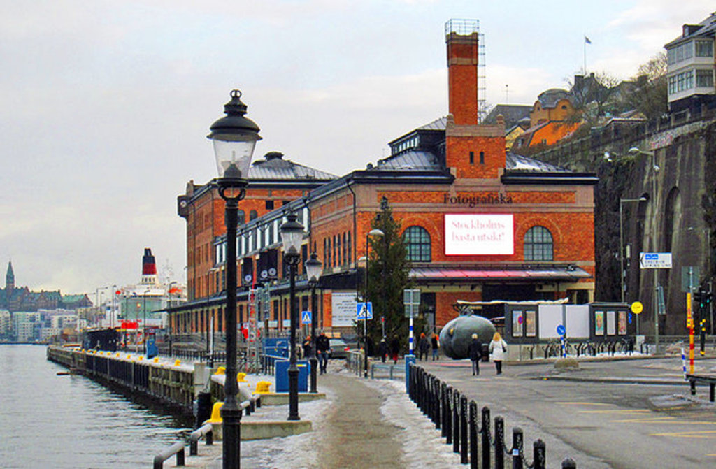 Fotografiska is one of the world's largest meeting places for contemporary photography, with one of Stockhoms best restaurants