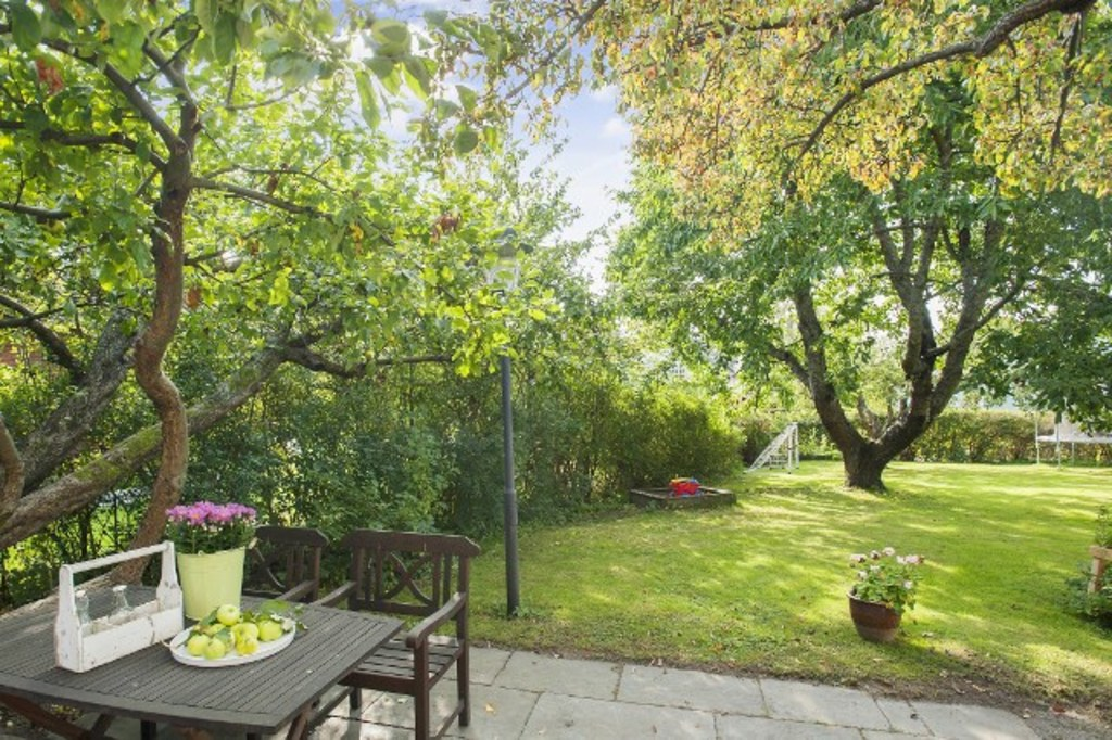 Big garden with play areas