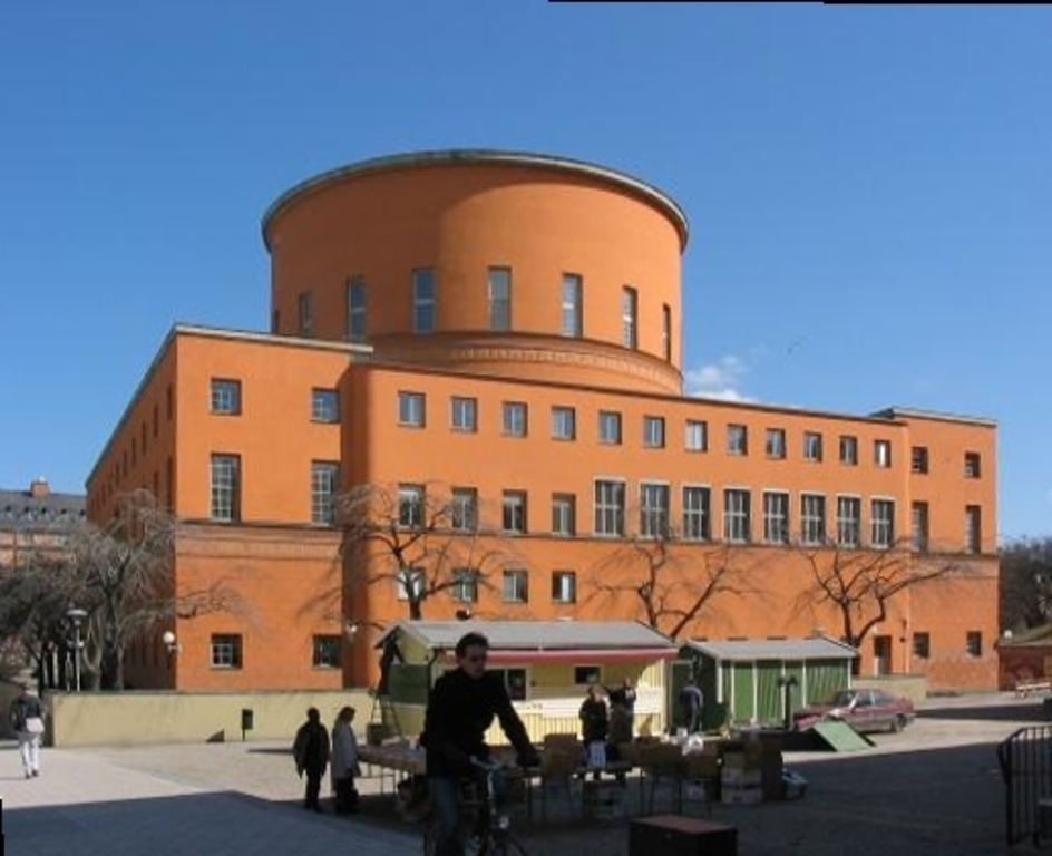 Stockholm City Library.