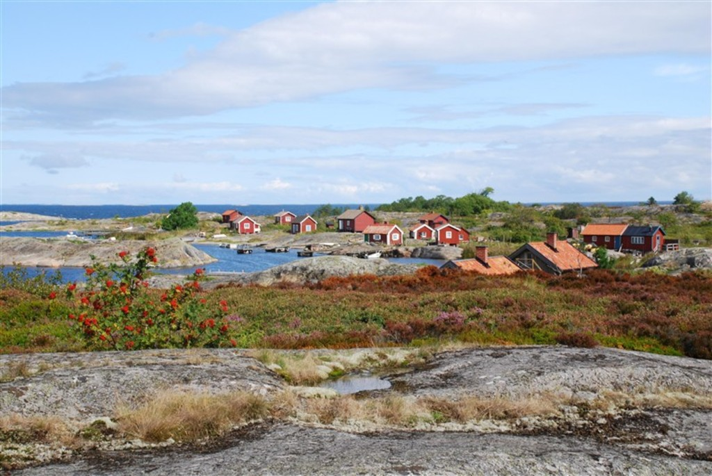 The Stockholm  Archipelago with 5000 islands is easy to access by small ferries from Stockholm City.