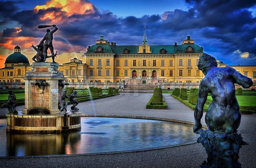 Drottningholms slott / Drottningholm palace