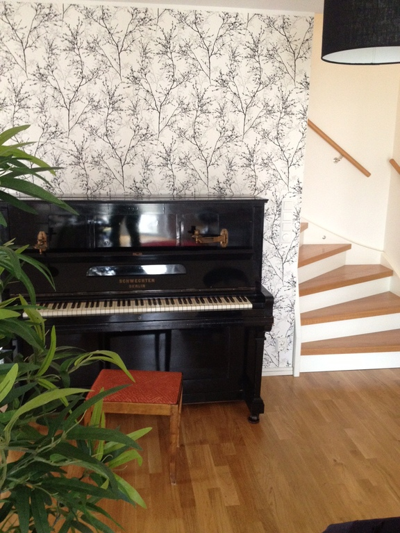 Piano downstairs
