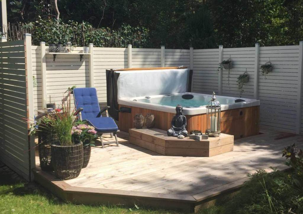 Jacuzzi in the garden - Planned for spring 2020 (Example picture)