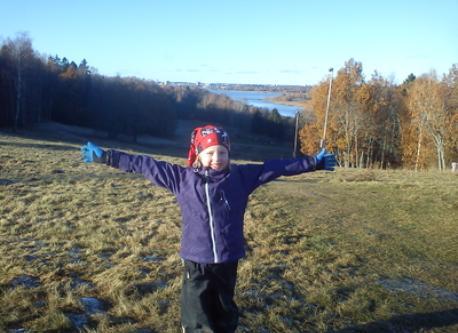 Elise at Björnö island outside Västerås