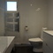 Upstairs bathroom with bathtub!