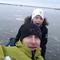 On the icecovered lake Mälaren, 2014.