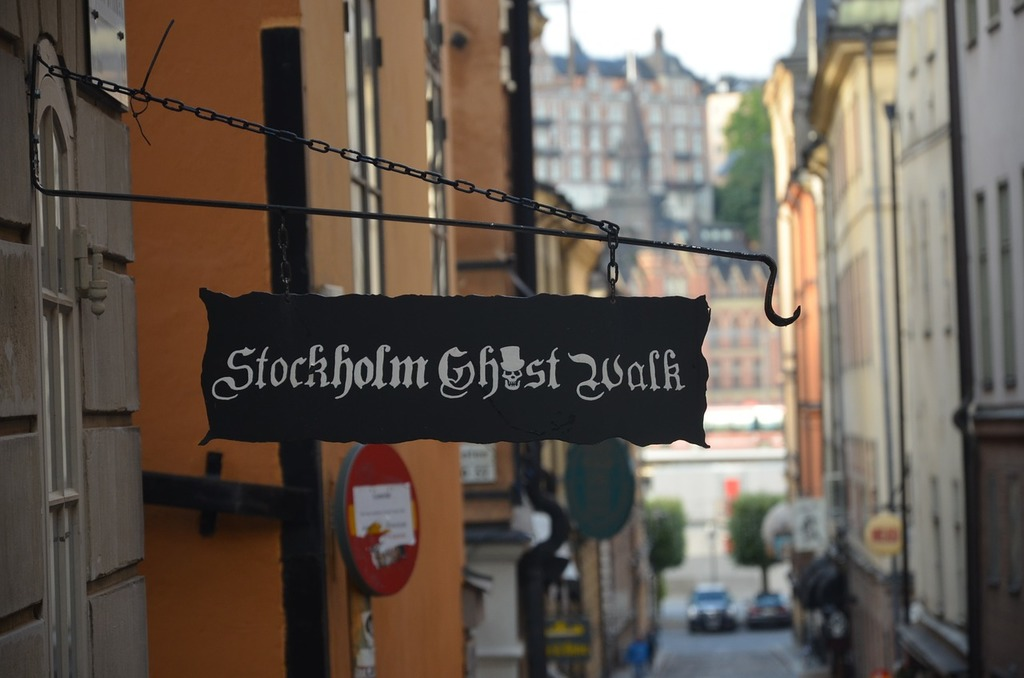 "Join the popular ""Ghost walk"" (or another sightseeing tour) in Old Town."