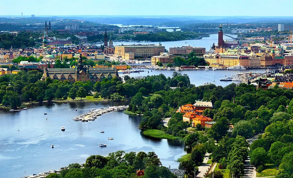 "Our beautiful capital, Stockholm, ""The Venice of the North""!"