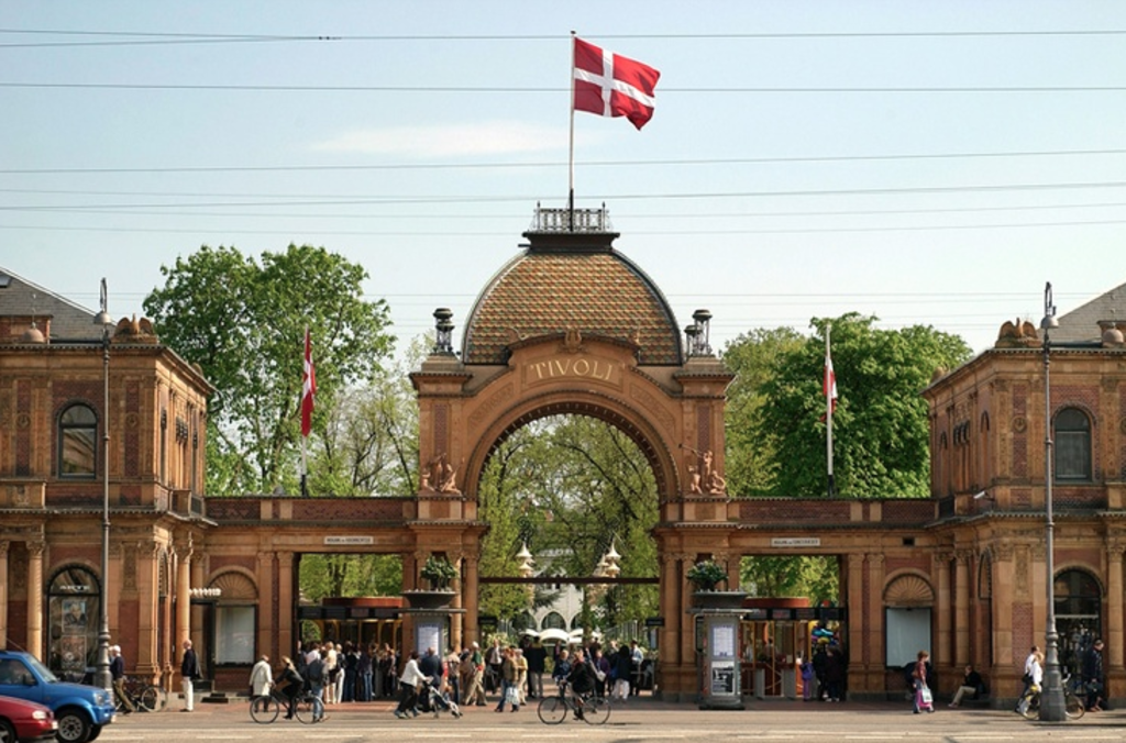 The Danish capital Copenhagen just 30 mins away (&Tivoli, the 2nd oldest amusement park in the world and a very beautiful one)