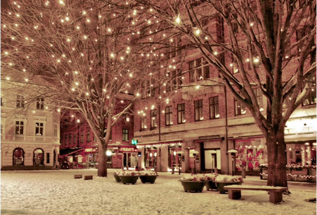 Winter, Lilla Torg, Malmö