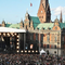 Stortorget (Main Square during the yearly summer festival in August)