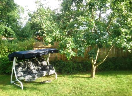 Retreat under the apple tree, perfect for afternoon resting