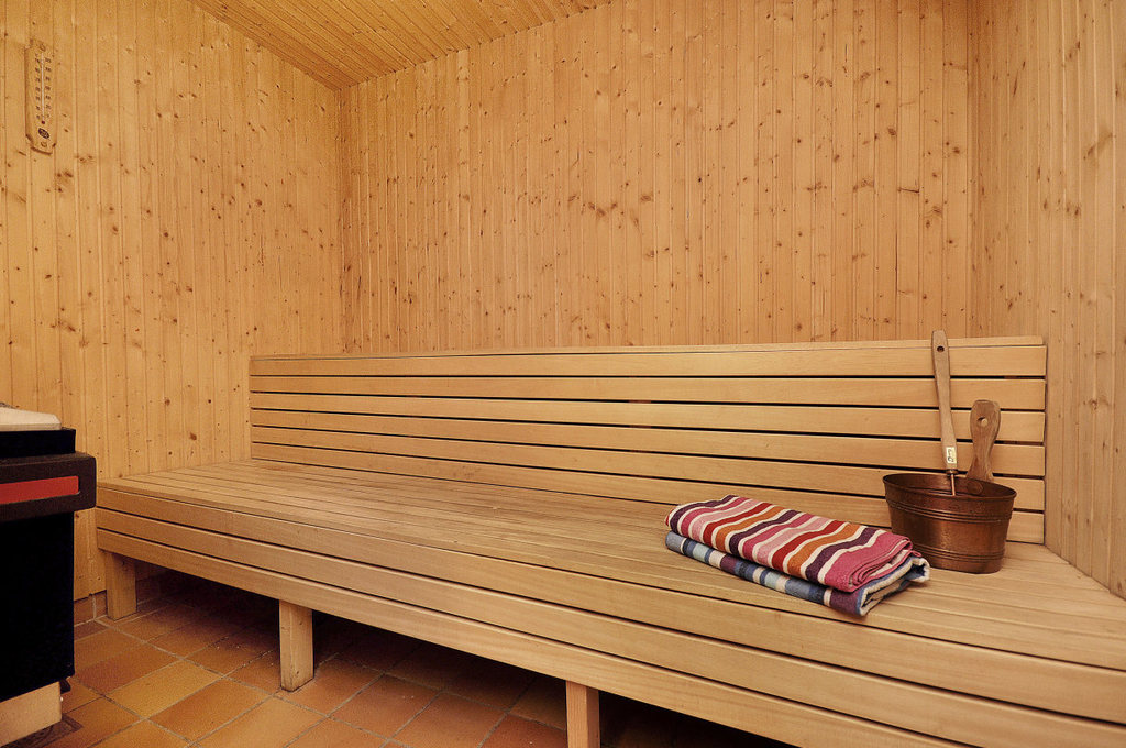 Sauna available for booking in the building