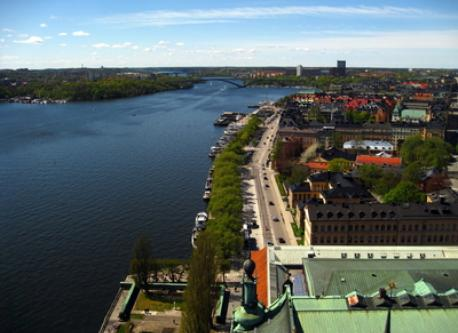 Southern parts of our island, Kungsholmen