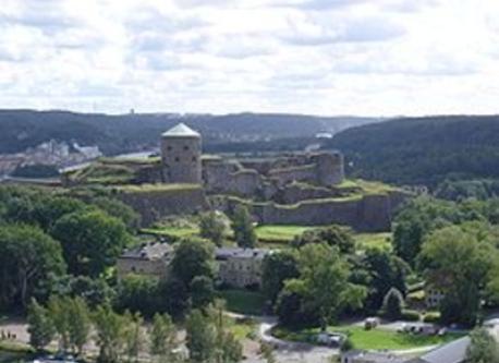 """Castle """"Bohus fästning"""" in Kungälv."""