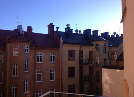 Veiw from balkony