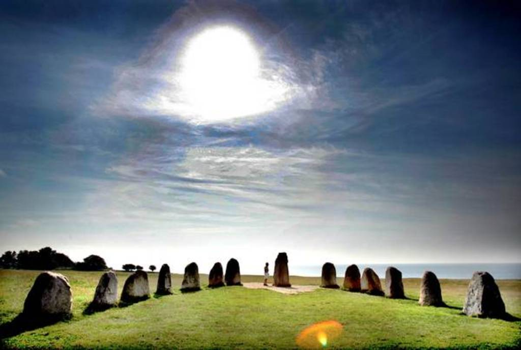 Sweden...You proberbly think of the vikings...Ales stenar, the swedish Stonehenge a must see! Just a daytrip away