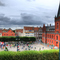 Town square in Landskrona